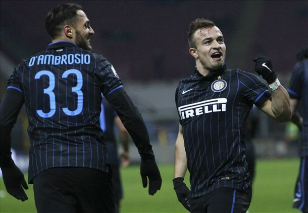 Inter Milan 2-0 Sampdoria