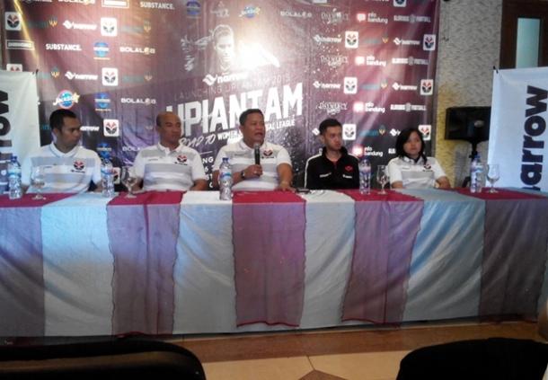 Peluncuran Skuat Futsal UPI Antam