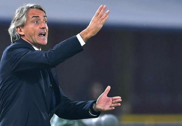 Roberto Mancini Himbau Tim Untuk Bermain Lebih Bagus Lagi