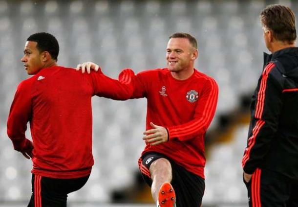 Wayne Rooney Bela Memphis Depay